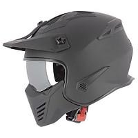 [해외]ASTONE Elektron Convertible Helmet Refurbished 9138246572 Matt Black