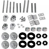 [해외]새들맨 Honda S4 Quick Disconnect Docking Post&Fastener Kit 9137476168 Silver
