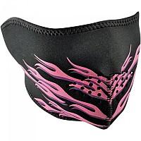 [해외]ZAN 헤드기어 Neoprene Half Face Mask 9137336841 Pink Flames