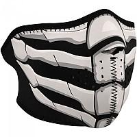 [해외]ZAN 헤드기어 Neoprene Half Face Mask 9137336870 Glow Bone Breath