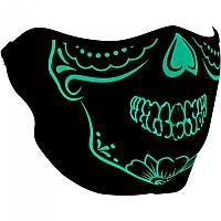 [해외]ZAN 헤드기어 Neoprene Half Face Mask 9137336927 Calavera