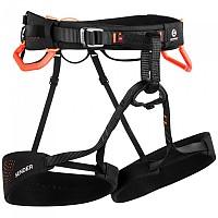 [해외]마무트 Nordwand Harness 4137688676 Black / Vibrant Orange