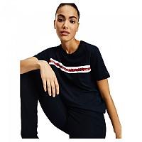 [해외]타미힐피거 언더웨어 Logo Tape Short Sleeve T-Shirt Desert Sky