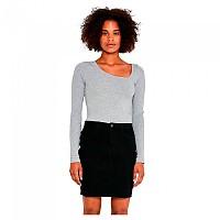 [해외]NOISY MAY Be Callie Denim V135BL BG High Waist Skirt Black Denim