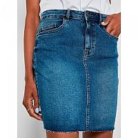[해외]NOISY MAY Be Callie Denim VI136MB BG High Waist Skirt Medium Blue Denim