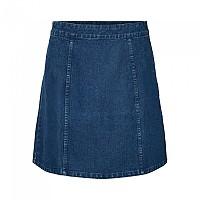 [해외]NOISY MAY Peri BI048MB BG High Waist Skirt Medium Blue Denim