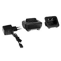 [해외]MOTOROLA Charging Base 2 Units 1137498865 Black