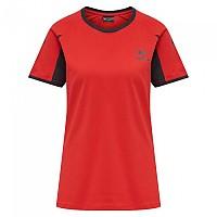 [해외]험멜 Action Cotton Short Sleeve T-Shirt 3138055980 Flame Scarlet / Ebony