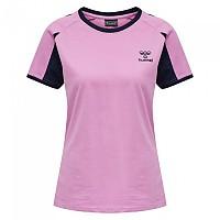 [해외]험멜 Action Cotton Short Sleeve T-Shirt 3138055981 Orchid / Black Iris