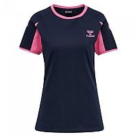 [해외]험멜 Action Cotton Short Sleeve T-Shirt 3138055982 Black Iris / Sugar Plum