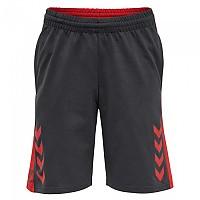 [해외]험멜 Action Cotton Short Pants 3138055989 Ebony / Flame Scarlet