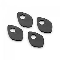 [해외]리조마 FR232 Rear Indicator Adapters 4 Units 9138260950 Black