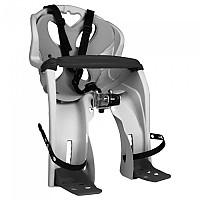 [해외]NFUN Simpatico Handlebar Child Bike Seat With Front Protection Bar 1138276690 Grey / Grey