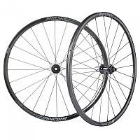 [해외]MICHE Reflex DX CL Disc Road Wheel Set 1138276647 Black