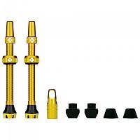 [해외]MUC OFF Tubeless Presta 44 mm Valves Kit 1138277936 Gold