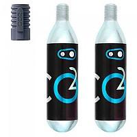 [해외]CRANKBROTHERS 16g 2 Units CO2 Cartridge 1138270047 Black / Silver