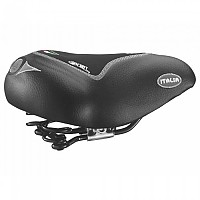 [해외]SELLE MONTEGRAPPA 1101 Max Comfort Gel Saddle 1138265584 Black