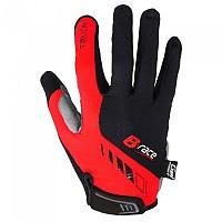[해외]B-RACE Bump Gel Pro Long Gloves 1138165393 Black / Red
