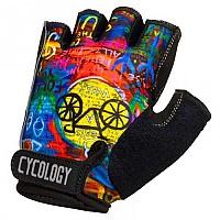 [해외]CYCOLOGY 8 Days Short Gloves 1138223108 Yellow / Blue