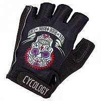 [해외]CYCOLOGY Day Of The Living Short Gloves 1138223118 Black / White