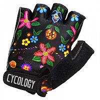 [해외]CYCOLOGY Frida Short Gloves 1138223123 Black Floral