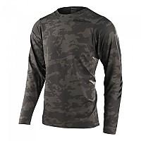 [해외]트로이리디자인 Skyline Chill Long Sleeve T-Shirt 1138266026 Green Camo