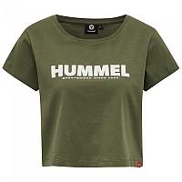 [해외]험멜 Legacy Cropped Short Sleeve T-Shirt 3138038101 Beetle