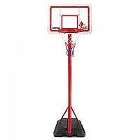 [해외]DEVESSPORT Adjustable Basketball Basket Junior 3138243770 White / Black / Red