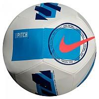 [해외]나이키 Serie A Pitch Football Ball 3138125825 White / Light Blue / Bright Crimson