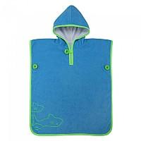 [해외]아쿠아스피어 Baby Towel Poncho 3138204215 Light Blue / Bright Green