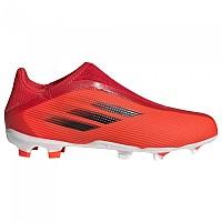 [해외]아디다스 X Speedflow.3 LL FG Football Boots 3138103521 Red / Core Black / Solar Red