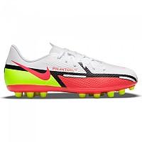 [해외]나이키 Phantom GT2 Academy AG Football Boots 3138253601 White / Bright Crimson-Volt
