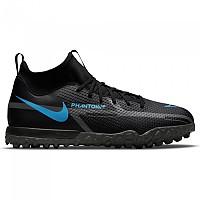 [해외]나이키 Phantom GT2 Academy DF TF Football Boots 3138253604 Black / Black-Iron Grey