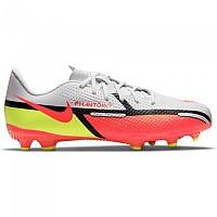 [해외]나이키 Phantom GT2 Academy FG/MG Football Boots 3138253613 White / Bright Crimson-Volt