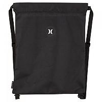 [해외]헐리 Beach Solid Drawstring Bag Black
