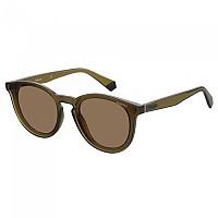 [해외]POLAROID 아이웨어 PLD 6144/S Polarized Sunglasses Brown / Gold