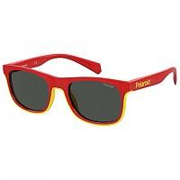 [해외]POLAROID 아이웨어 PLD 8041/S Polarized Sunglasses Red / Grey / Yellow
