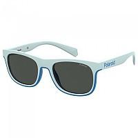 [해외]POLAROID 아이웨어 PLD 8041/S Polarized Sunglasses White / Blue / Grey