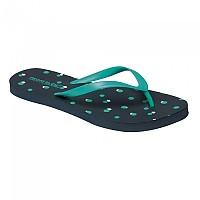 [해외]레가타 Lady Bali Flip Flops Navy Dot