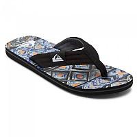 [해외]퀵실버 Molokai Layback Flip Flops Black / Blue / Grey