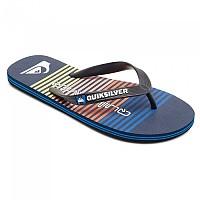 [해외]퀵실버 Molokai Point Break Flip Flops Black / Blue / Black