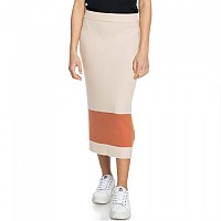 [해외]록시 On My Cloud Stripe Skirt Tapioca