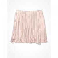 [해외]아메리칸 EAGLE Floral Notched Mini Skirt Pink