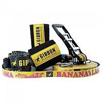 [해외]GIBBON SLACKLINES BananaLama XL TreeWear Set 4138284351 Yellow