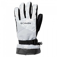 [해외]컬럼비아 Whirlibird Gloves 4138187552 White Florescence Print / Cirrus Grey