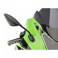 [해외]PUIG Right Rearview Mirror RS2 Honda NT650V Deauville 01 9138283055 Black