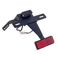 [해외]PUIG License Plate Holder Suzuki GSXR6/750 08-10 9138286879 Black