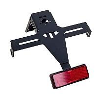 [해외]PUIG License Plate Holder Yamaha YZF-R1 SP 04-06 9138286898 Black