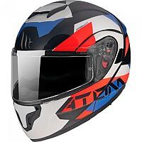 [해외]MT HELMETS Atom SV W17 Modular Helmet 9138277650 Gloss Pearl / Blue