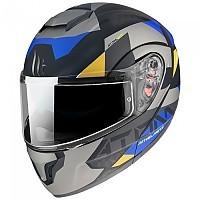 [해외]MT HELMETS Atom SV W17 Modular Helmet 9138277651 Matt Grey